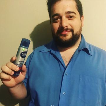 NEW NIVEA MEN Body Deodorizer Range-8916