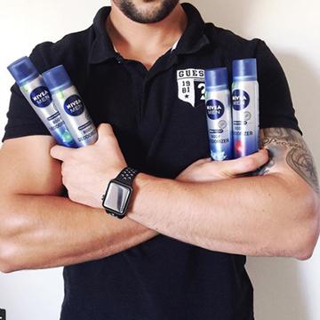NEW NIVEA MEN Body Deodorizer Range-8904