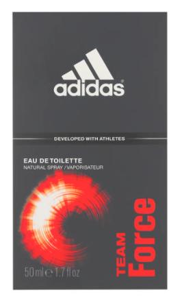 Adidas Team Force Eau De Toilette Natural Spray -9249