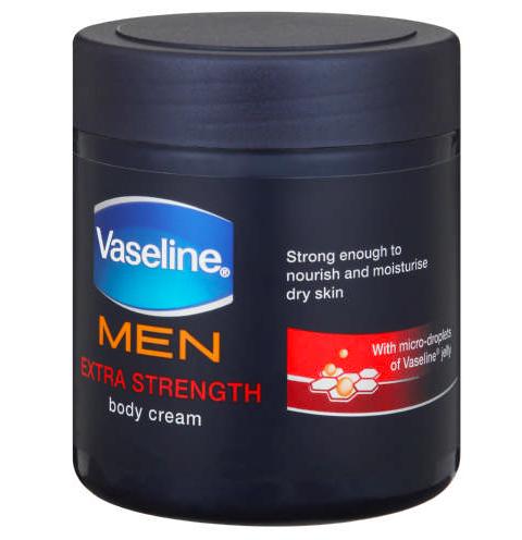 Vaseline Men Body Cream Extra Strength-9246