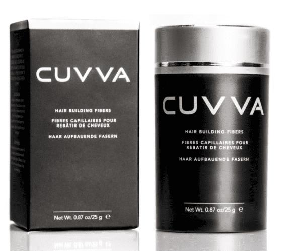 Cuvva Hair Fibers for Hair Loss & Thinning Hair - Medium Brown -9325