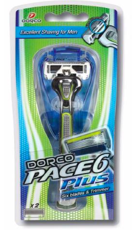 Pace 6-Men 6 Blade Razor Handle--0