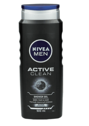 Nivea Men Active Clean Shower Gel-10121
