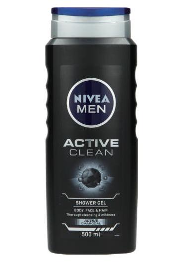 Nivea Men Active Clean Shower Gel-0