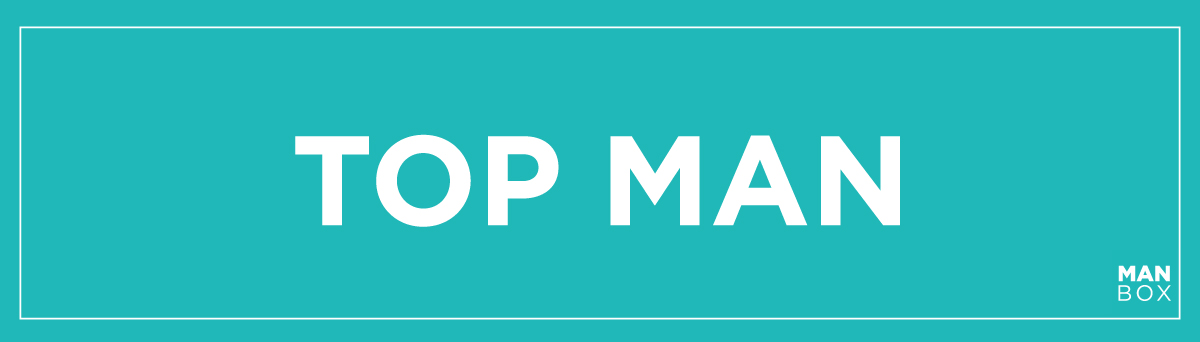 TOP MAN banner